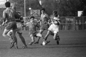 Detalj s jedne utakmice NK Samobora 1996. godine