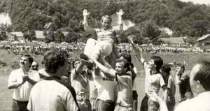 Slavlje nakon pobjede 1985. godina