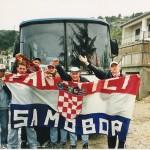 Fanatici na putu za Dubrovnik