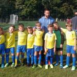 Selekcija Prstića 2 NK Samobora u sezoni 2015/2016. sa trenerom Ivanom Kožulom